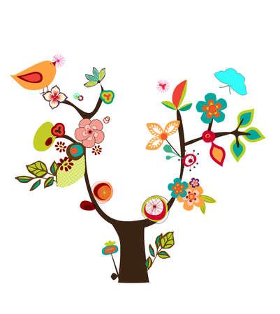 orange tree: fantasy tree