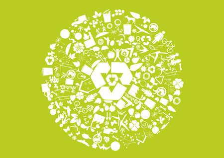 green environmental elements
