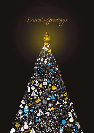 originales: estilizado �rbol de Navidad
