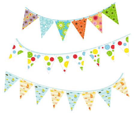 bunting flags: party buntings