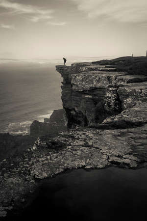 moher: Amazing landscape of the Cliffs of Moher in Ireland