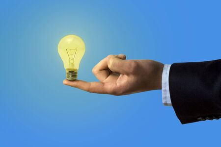Get the right idea for your business! Stock Photo