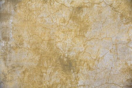 faded yellow plaster Stock Photo - 408898