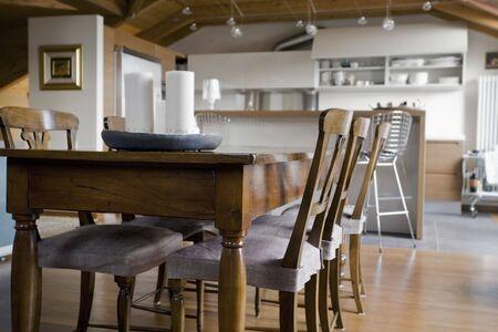 classic dining room Stock Photo - 463133