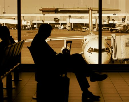 at the airport Stock Photo - 463131