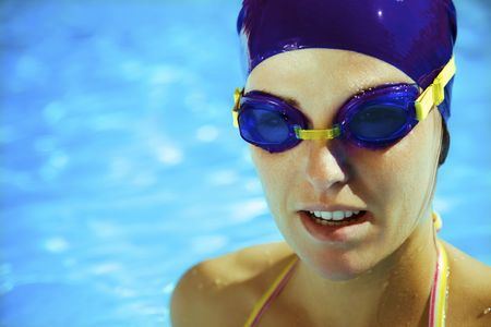 won: Healthy lifestyle: this swimmer just won the contest