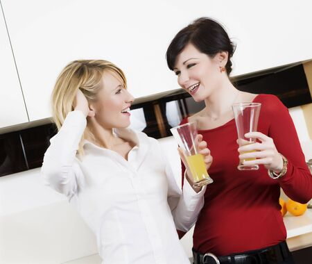 home life: best friends having fun together Stock Photo - 2220724