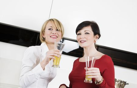 home life: best friends having fun together Stock Photo - 2242746