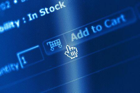 screenshot: business and technology: e-commerce screen shot