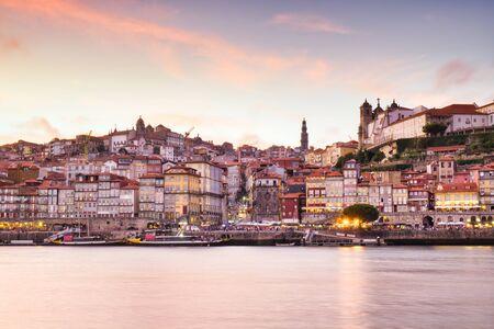 View Of Porto Oporto City And Douro River Portugal Фото со стока - 138134303
