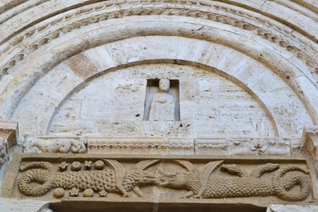 san quirico: San quirico d Orcia church