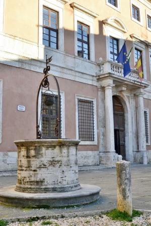 san quirico: San quirico d Orcia town hall