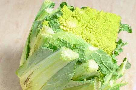 green cauliflower Archivio Fotografico