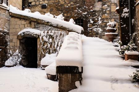 ancient innavato village Stockfoto