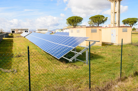 photovoltaic system - alternative power source electric generator