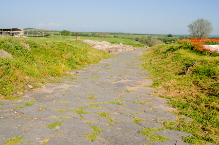 Vulci Archaeological Park, the ruins of the ancient Etruscan city of Vulci