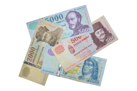magyar: Hungarian forint banksnotes