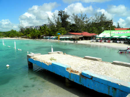 chica: boca chica dominican beach Stock Photo