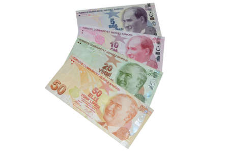 turkish lira: turkish lira banknotes currency