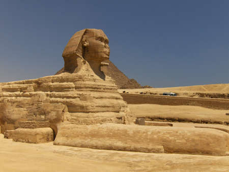 sphinx: la Esfinge en Giza