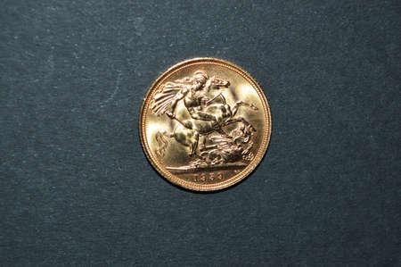 sterling: britannico sterline d'oro nel 1959 Archivio Fotografico