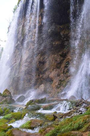 nearly: nearly Plitvice waterfall