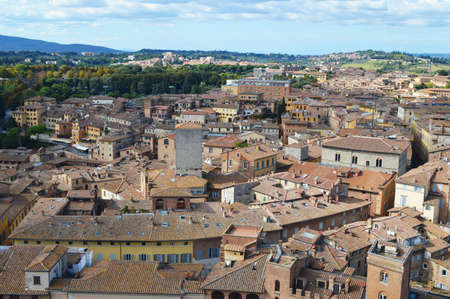 siena: Siena landscape