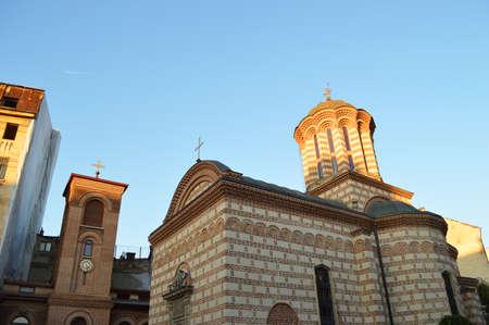 anton: Biserica SFA  ntul Anton church bucharest Stock Photo