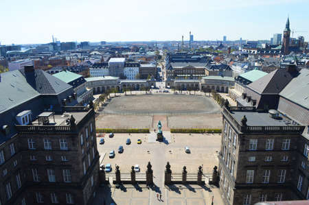 royal: copenhagen Royal Palace views