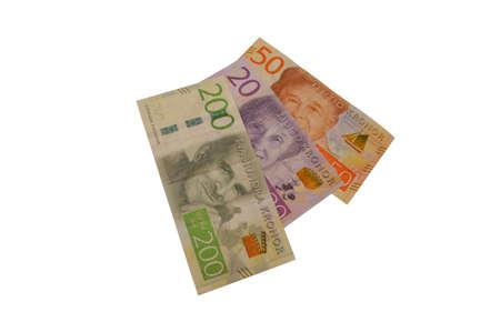 crone: new series swedish krona banknote