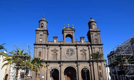 Sant'Anna Cathedral in las palmas de gran canaria