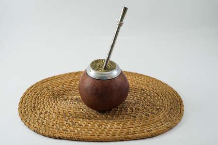 yerba mate: Bevarage argentino tradicional. Yerba Mate. Buenos Aires. Am�rica del Sur. Am�rica. Foto de archivo