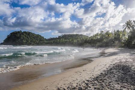 Heaven Beach at Itacare, Bahia, Brazil. Standard-Bild