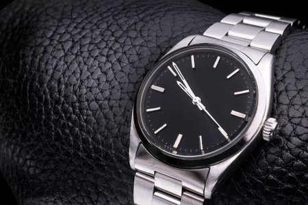 wrist: Beautiful watch with no label.