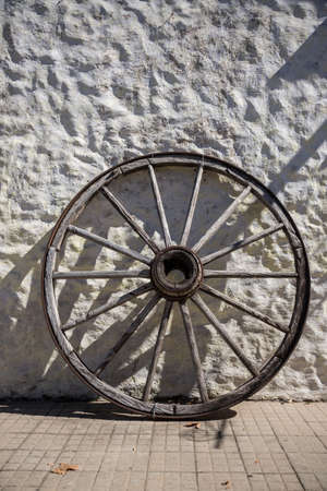 Old Wooden Wheel, Traveling South America.