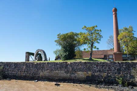 colonia del sacramento: Historic Town at Uruguay, beautiful traditional streets.