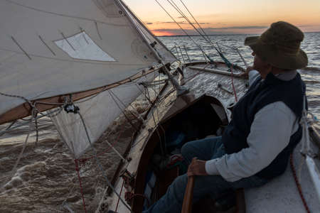Traveling South America sailing adventure. Buenos Aires.