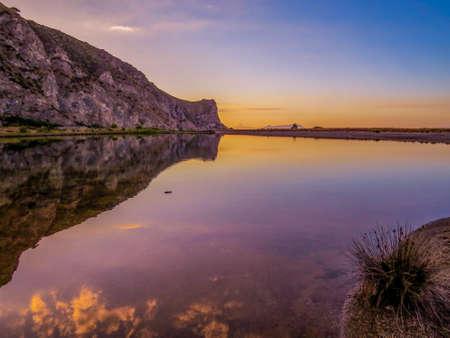 Sunset in Tindari, Sicily, Italy