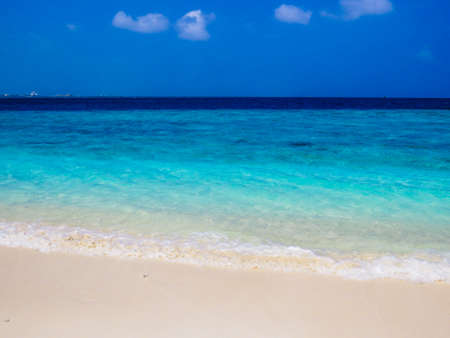 Amazing beach in Villingili, Maldives