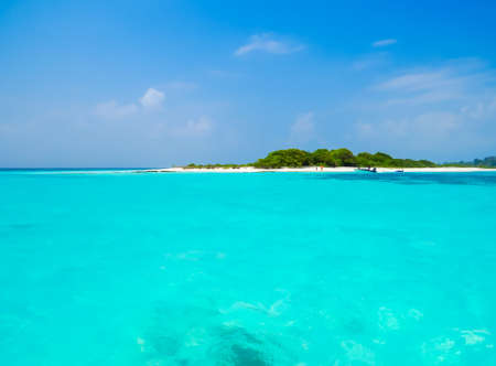 Amazing Sea in the Maldives