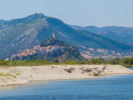 Posada, Sardinia, Italy Stock Photo