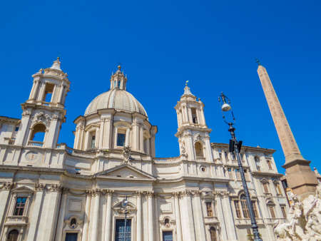 Sant'Agnese in Agone Church in Rome, Italy