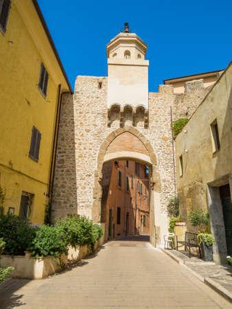 Torre dell'Orologio (Clock Tower) in Porto Ercole, Italy