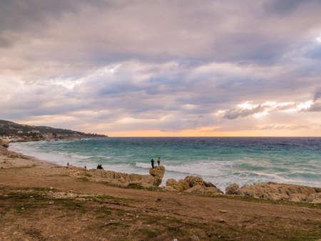 Sea in Batroun, Lebanon