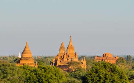 Ancient temples in Bagan, Myanmar Stockfoto