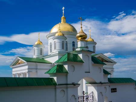 Annunciation Monastery, Nizhny Novgorod, Russia Archivio Fotografico