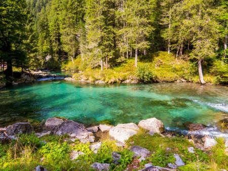 Val Nambrone, Trentino-Alto Adige, Dolomites, north Italy Stock Photo