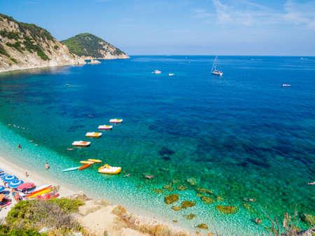 Sansone Beach, Elba Island, Italy Sajtókép