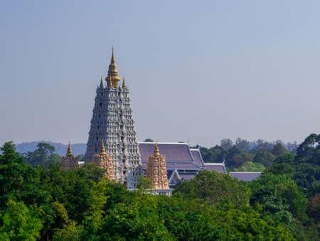 Pattaya, Thailand - January 6, 2020: View of the Wat Yansangwararam. Éditoriale