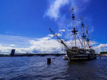 Annual celebrations for the Navy Day on July 26, 2020. In St. Petersburg, Russia Éditoriale